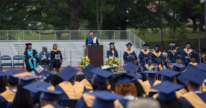 DC's projected high school graduation rate drops to 42%