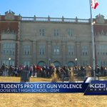 200 students walk out to protest school violence