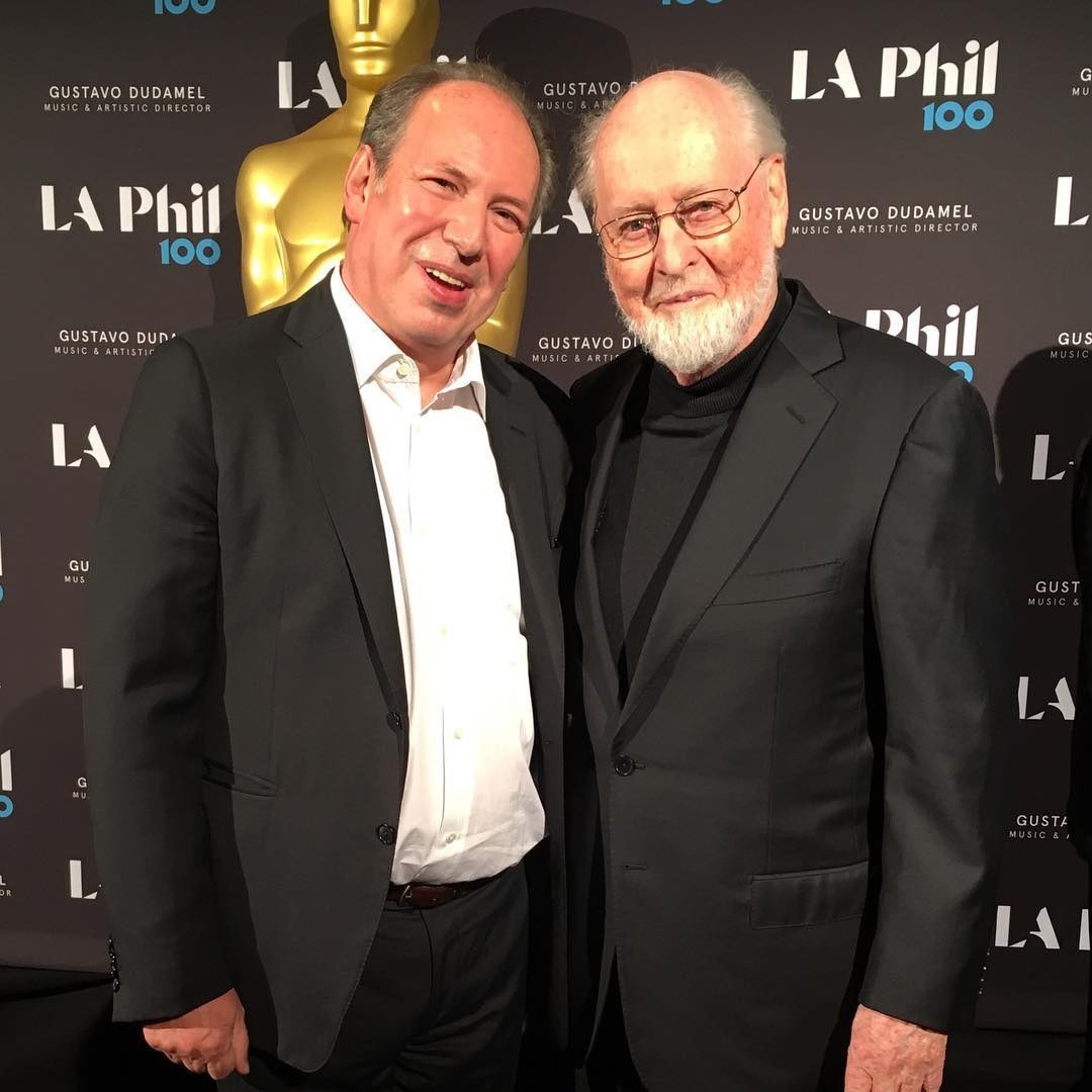 RT @HansZimmer: .@LAPhil with one of the truly greatest (and nicest!) composers #JohnWilliams https://t.co/xtFT90yuH5