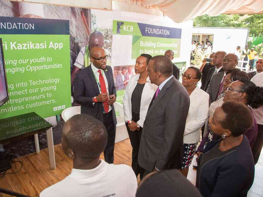 KCB Foundation seeking 10,000 for 2jiajiri skills training
