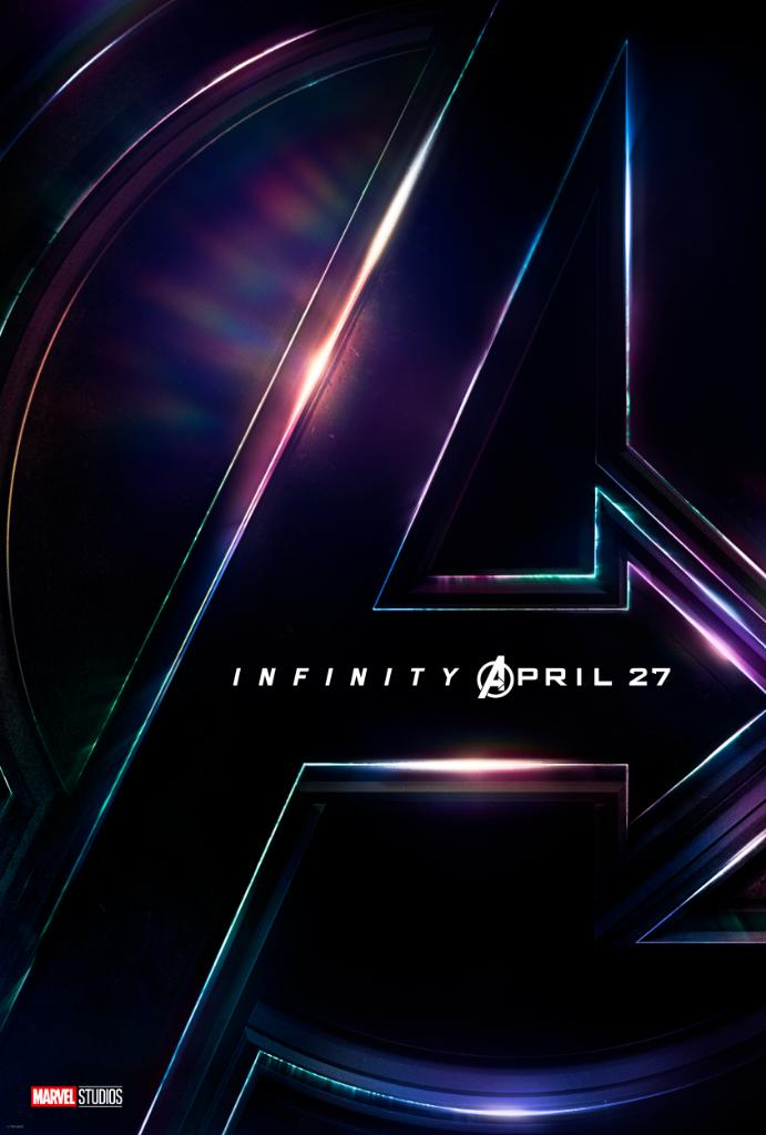 Marvel Studios' 'Avengers: #InfinityWar' in theaters everywhere April 27th! https://t.co/cxSKmHD5Ob