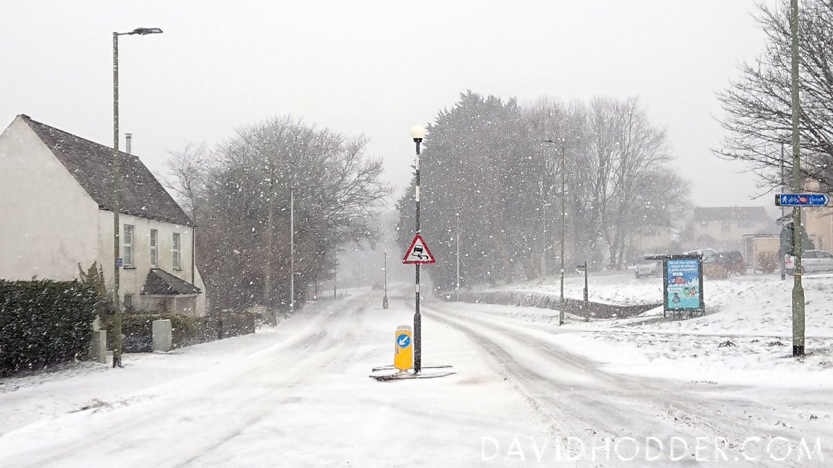 test Twitter Media - The main road into #Ivybridge... Never has it looked so treacherous and never has a road sign pointing out slippery surfaces been so appropriate. #uksnow #beastfromtheast #snowday2018 #devon https://t.co/RcPxWDle0p