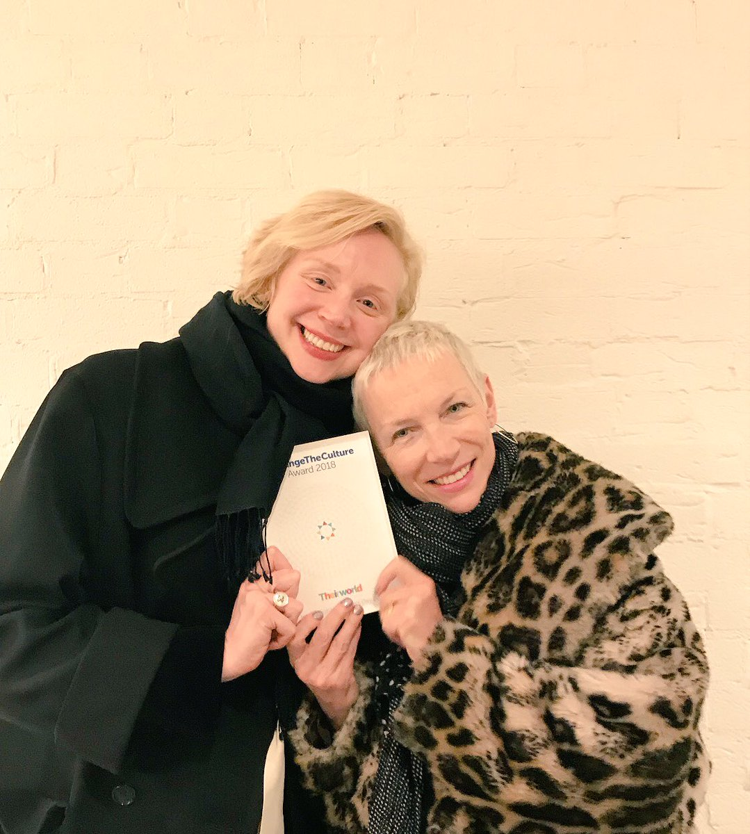 Dreams can come true.  ❤️@AnnieLennox @TheCircleNGO #changetheculture @theirworld https://t.co/bNzxBoDSn3