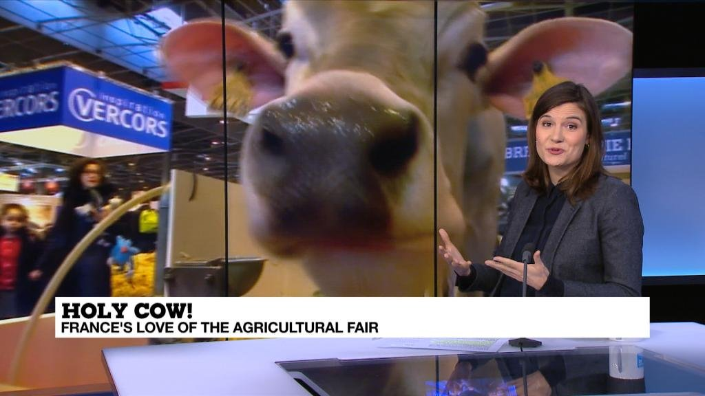 Cute animals and fed-up farmers: Paris's Agricultural Show