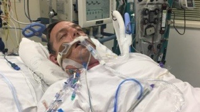 Son's heartbreaking birthday wish for dad in a coma with mystery illness