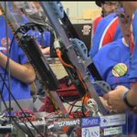 Robots bringing students together at Regional FIRST Robotics Competition