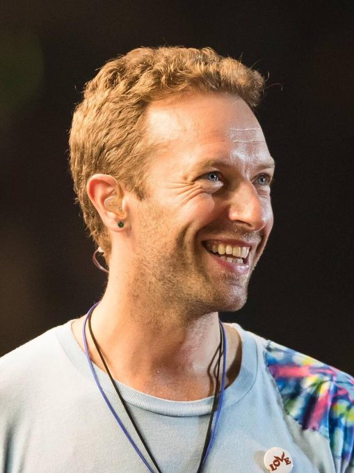 Happy birthday Chris Martin  Coldplay\s songs are my life saviour. Thank you very much