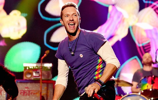 Happy birthday to Chris Martin, lead singer for the band