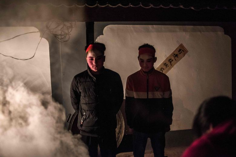 Land and fire: Chinese villagers celebrate pagan She Huo festival