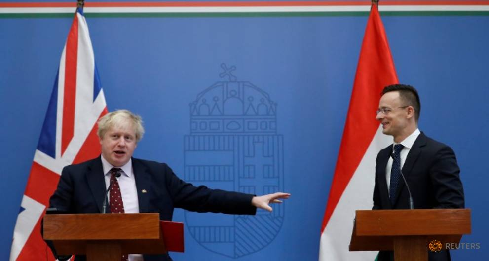 Britain to protect Hungarians' rights in UK after Brexit - Johnson