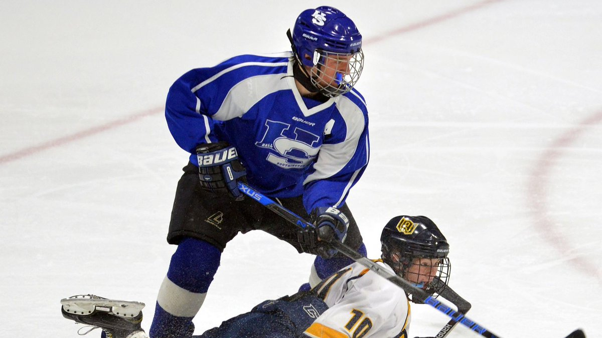 Hall-Southington Hockey Wins One For Its Captain Drew Booth