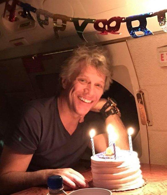 Congratulations! HAPPY! 56th! BIRTHDAY! Jon! Bon! Jovi! Sweeet! Way! Cool!  Aaaay!