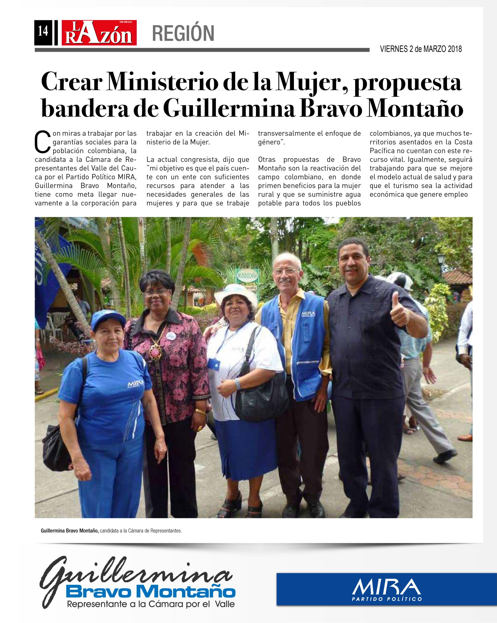 Es necesario la creación del Ministerio de la #Mujer. #BuenViernes https://t.co/85WF7Ia5td