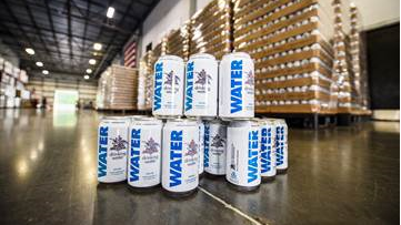 Anheuser-Busch delivers 50,000 cans of drinking water for Kentucky flood victims