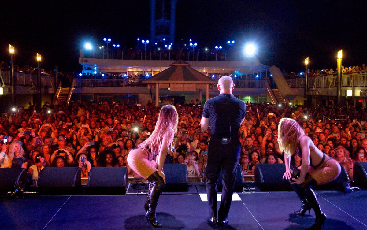 We are thrilled to be back at sea @pitbullcruise https://t.co/wOz3g8iFTC
