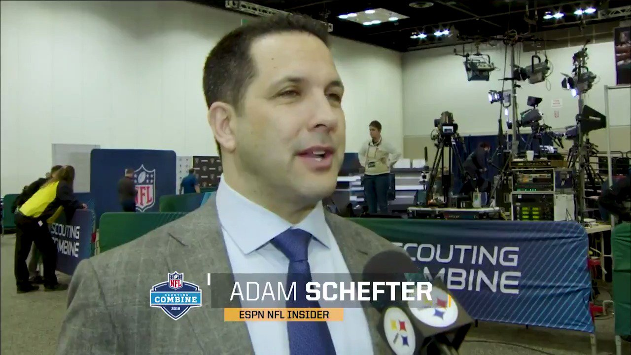 ESPN NFL Insider @AdamSchefter peels the curtains on the #NFLCombine, and gives his take on our offseason. https://t.co/BoJanlvoTy