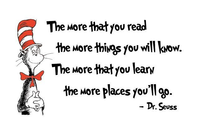 RT @hitRECord: Some very wise words in honor of #DrSeussDay... https://t.co/iqyFfanX7N