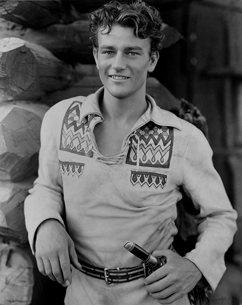 """#FlashbackFriday #JohnWayne's first lead role was """"The Big Trail"""" in 1930. He played Breck Coleman, a young """"trapper"""" avenging the death of his friend."""
