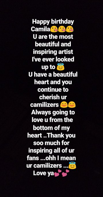 A little message from ur biggest fan ...Happy birthday