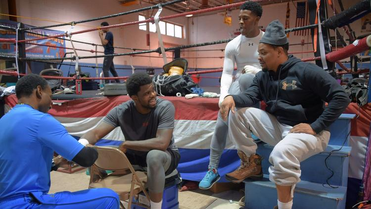 Baltimore-born boxer Cassius Chaney fights to live up to his name