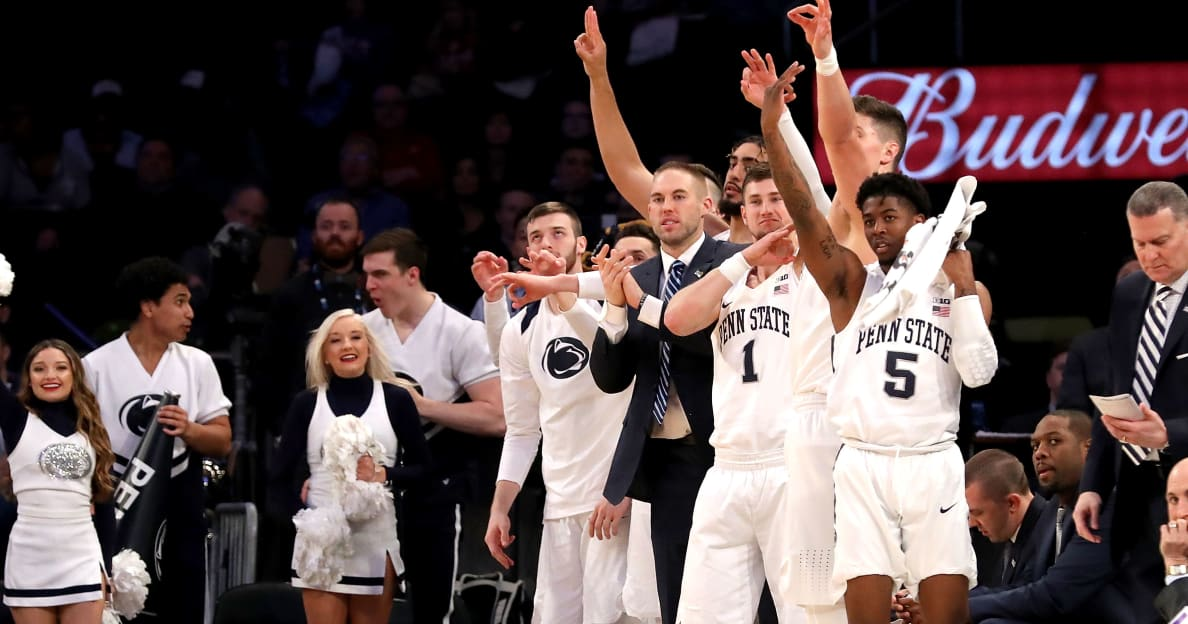 Penn State basketball's bus involved in 'hilarious' altercation with New York City motorist