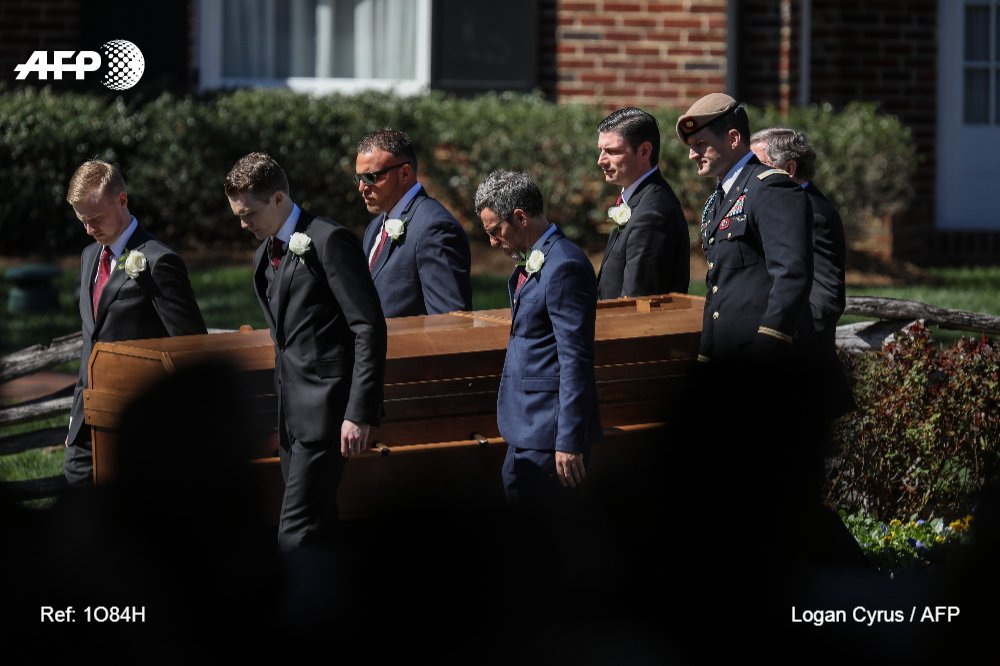 Reverend Billy Graham laid to rest at North Carolina home