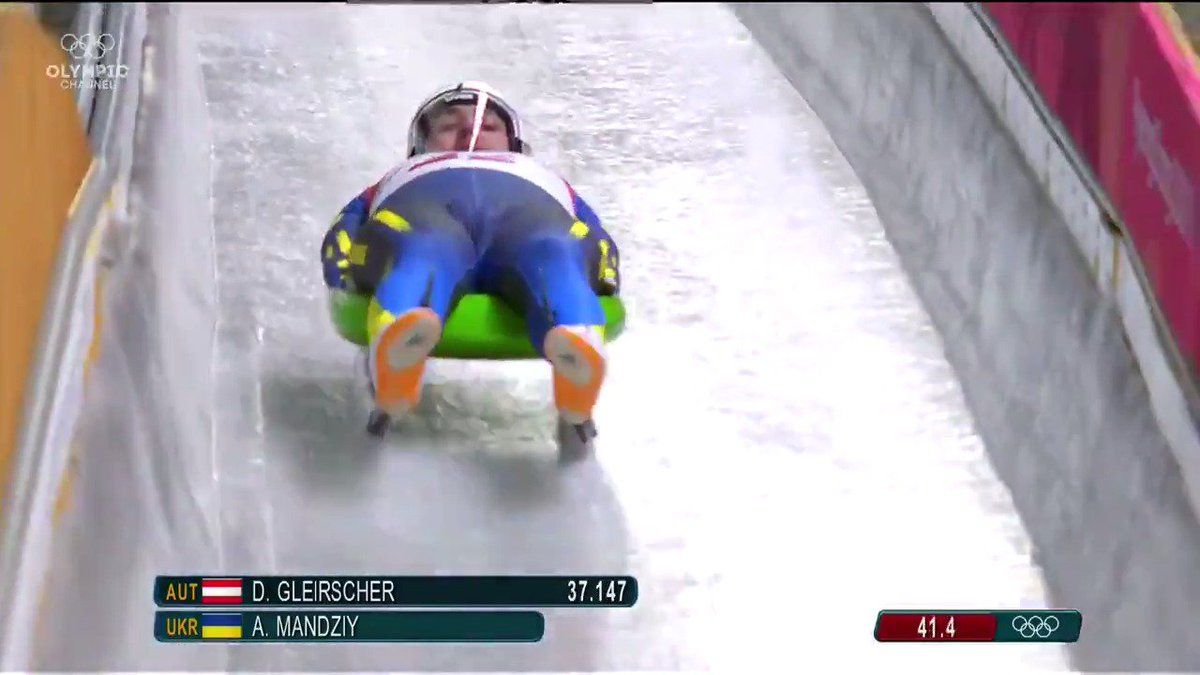 RT @olympicchannel: An amazing recovery on the luge track! https://t.co/FVEFMSpIee