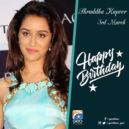 Wishing you another year full of blessings. Happy Birthday Shraddha Kapoor!