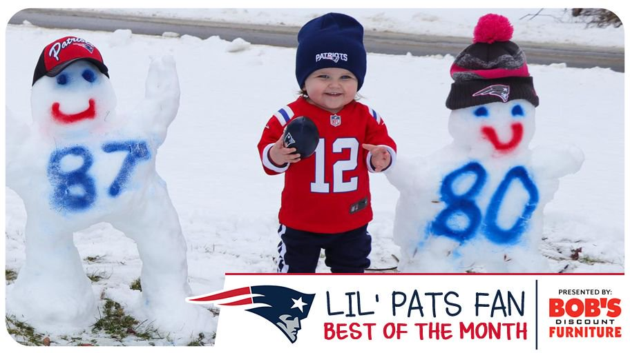 Just some of our favorite little fans!  February's best #LilPatsFan submissions: https://t.co/KDwAHEkiB5 https://t.co/X7B7g0PPAg