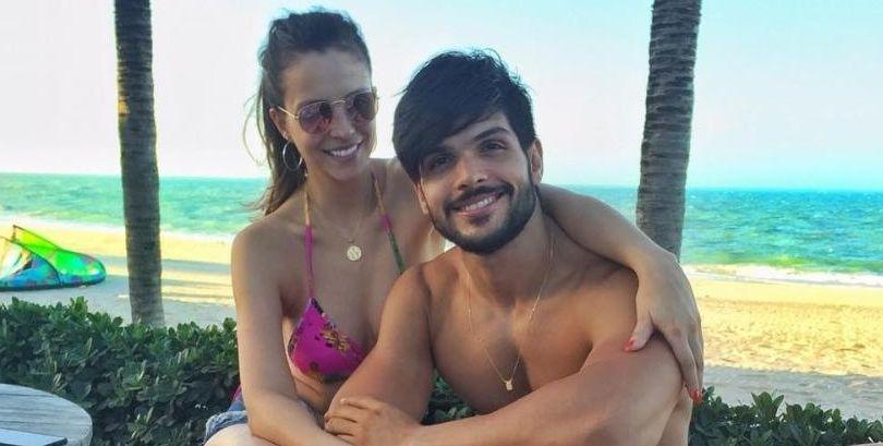 Lucia Confirma. Foto do site da BN Holofote que mostra Lucas confirma fim de noivado com Ana Lúcia após BBB e nega que caso seja 'marketing'
