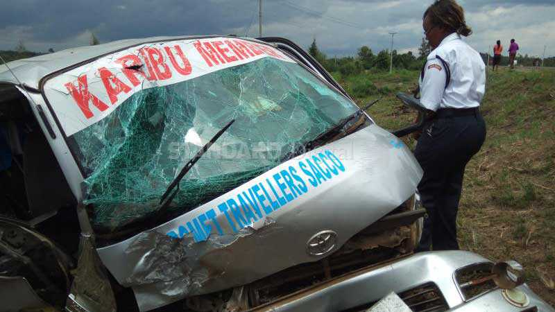 Grisly Bomet accident claims two lives, leaves 9 injured