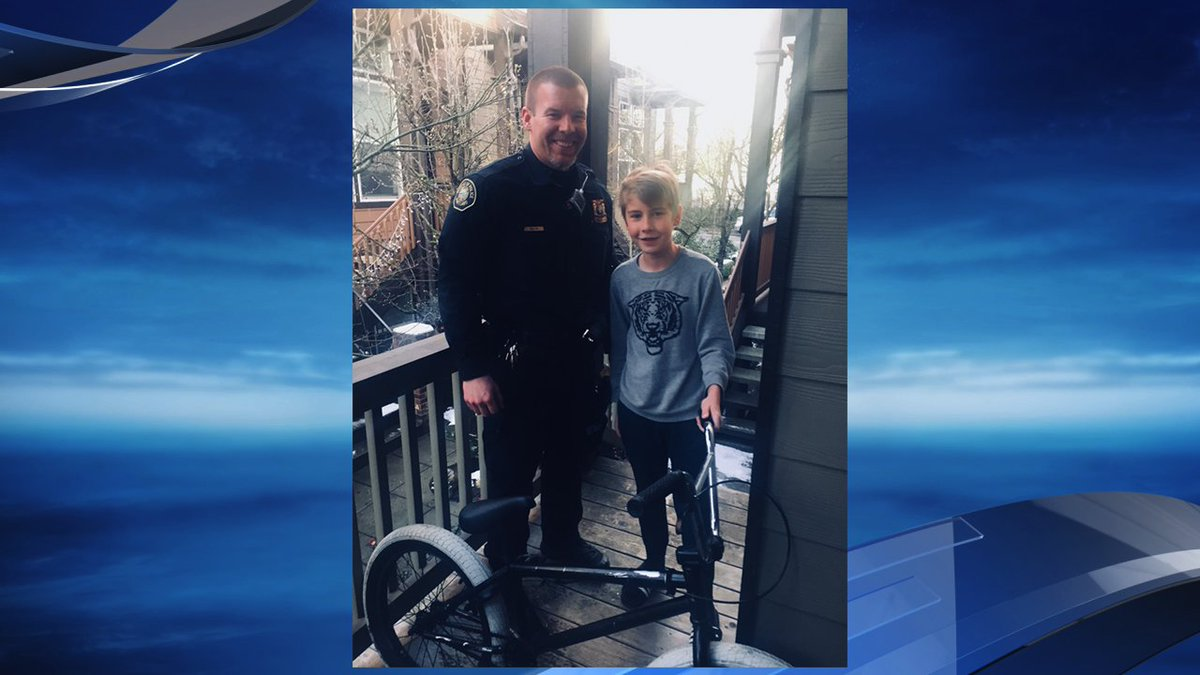 Portland police officers nab thief who stole bike from 12-year-old
