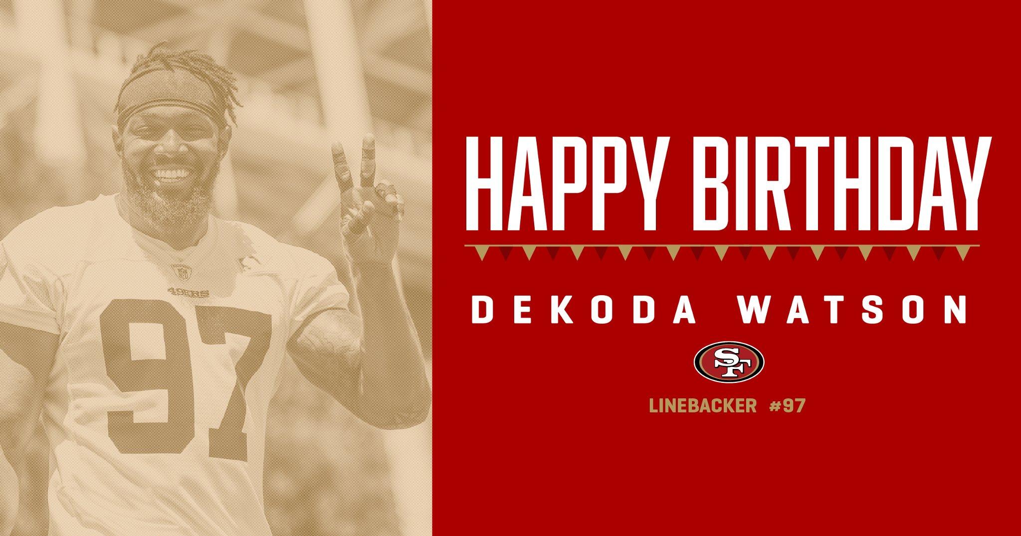 Smile it's your birthday! Have a good one @dekodawatson57 ✌�� https://t.co/d10ohVwaRZ