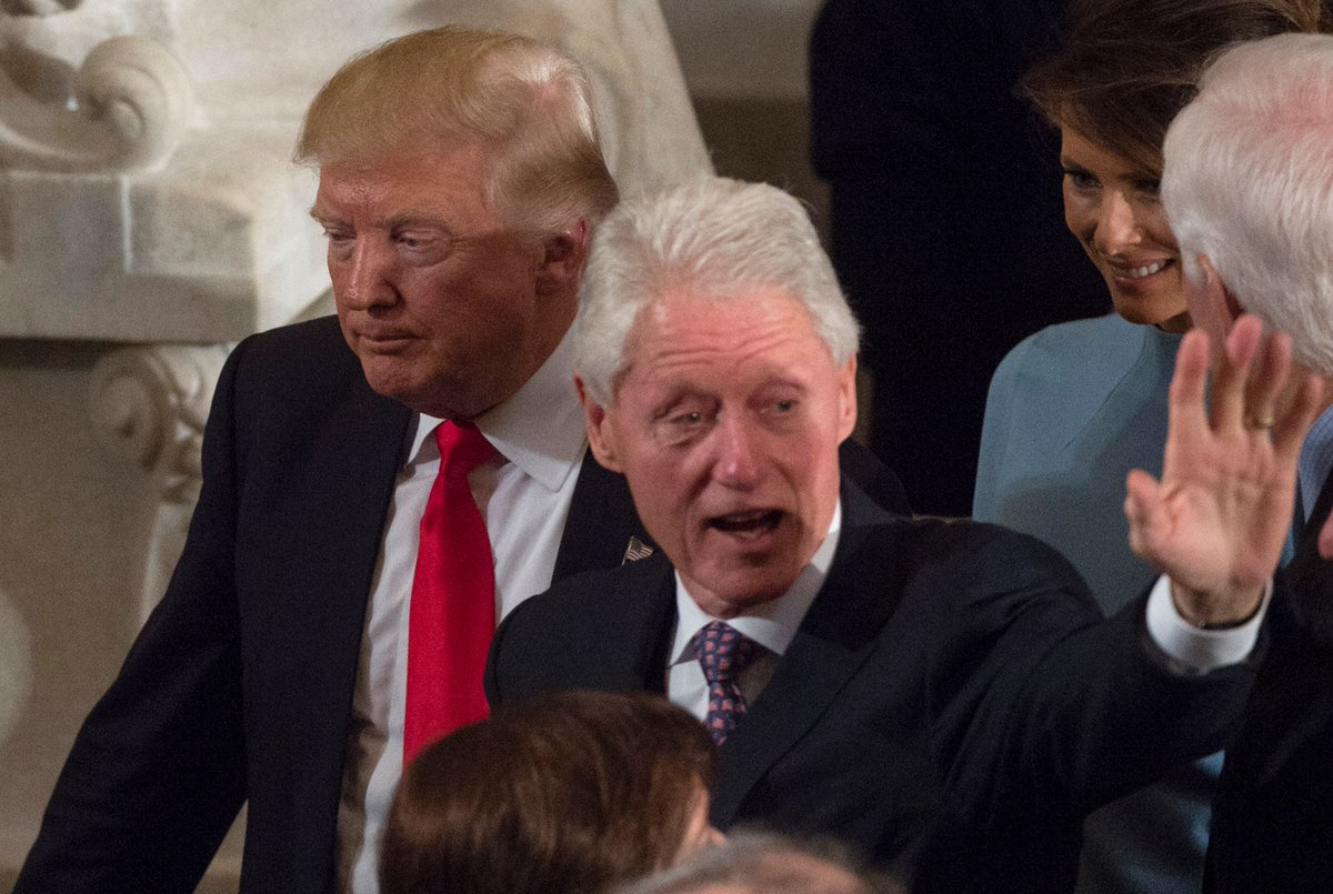 Trump's personal scandals matter more than Bill Clinton's did to Americans, poll shows