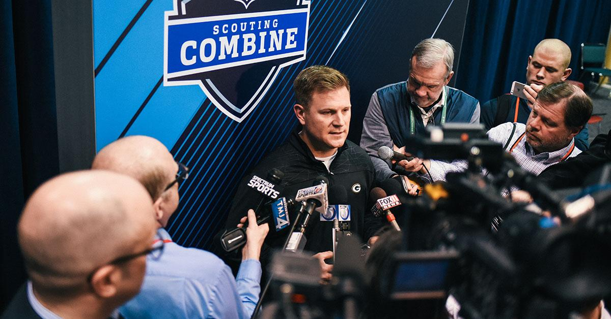 What do the #Packers look for in prospect interviews at the #NFLCombine?  Rock Report ��: https://t.co/6XPqhFtBNc https://t.co/27fPp3jaiP
