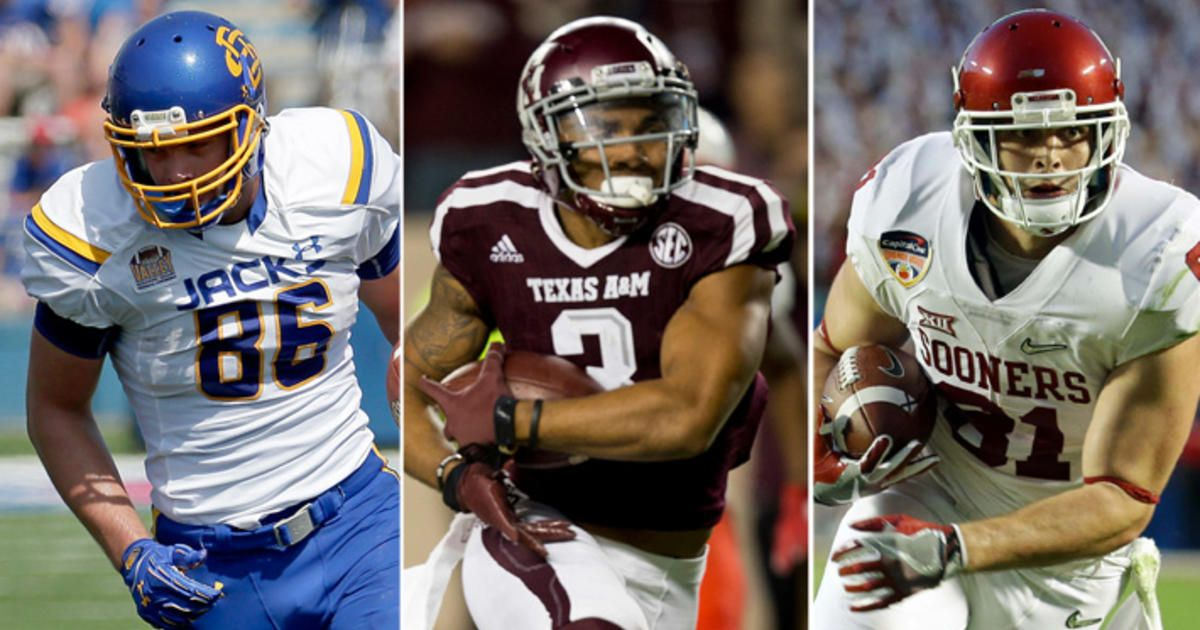 Plenty of receiving options among #NFLCombine prospects.   @pfwpaul breaks it down: https://t.co/Ec2YPhlDmk https://t.co/JlPXgSu2X3