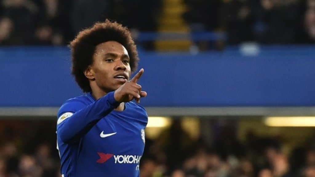 Willian helps Chelsea get back on track