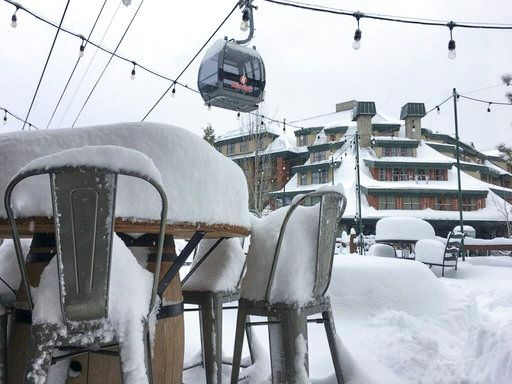 California winter storm, avalanche leave 1 dead, 2 injured