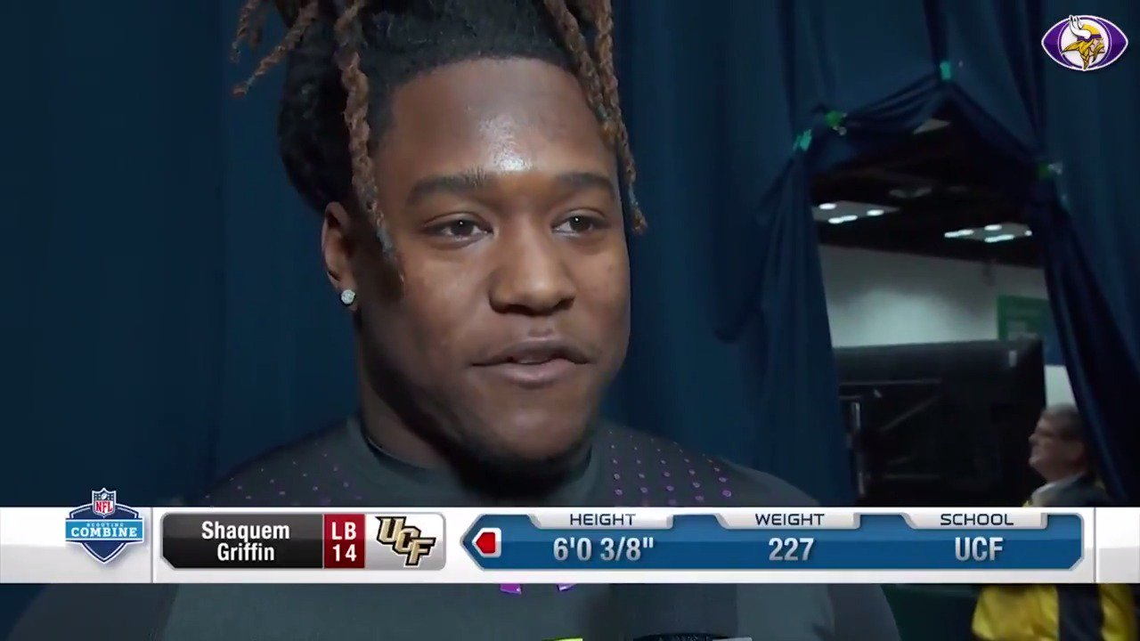 .@Shaquemgriffin was one of today's big stories during another busy day at the NFL Combine. https://t.co/udhd2moDuJ