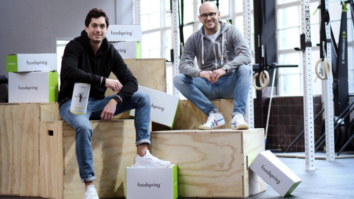 Start-Up Foodspring - 22 Mio. Euro, um uns schlanker zu machen