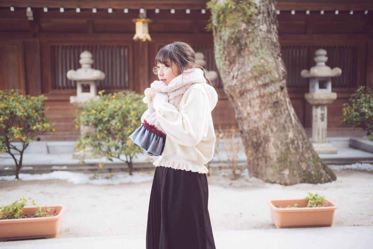ここは櫛田神社だよ! 福岡のパワースポットだよ♪  #与田祐希 #与田ちゃん #日向の温度 #乃木坂46 #妄想...