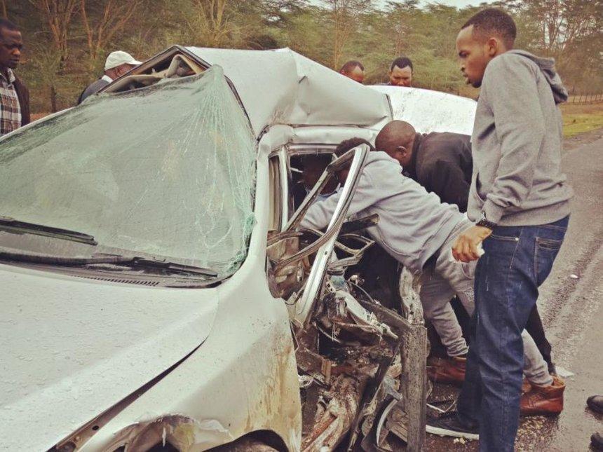 Laikipia majority injured, three dead in Naivasha road accident