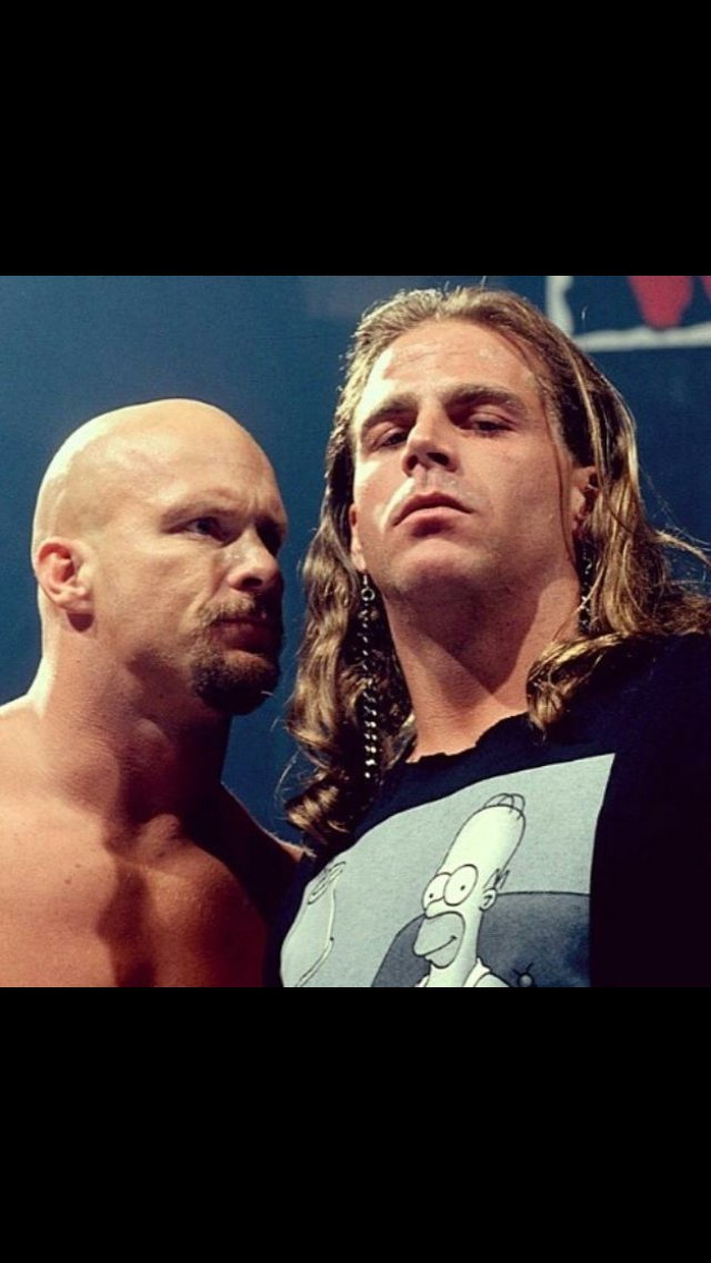 Love this photo. #WWF #ShawnMichaels #StoneColdSteveAustin https://t.co/rChCpodGCe