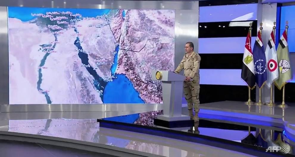 4 soldiers, 10 jihadists killed in Egypt Sinai campaign
