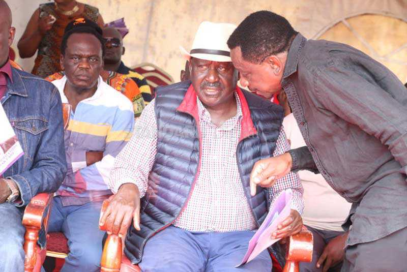 Raila tells supporters to brace for tough political times ahead
