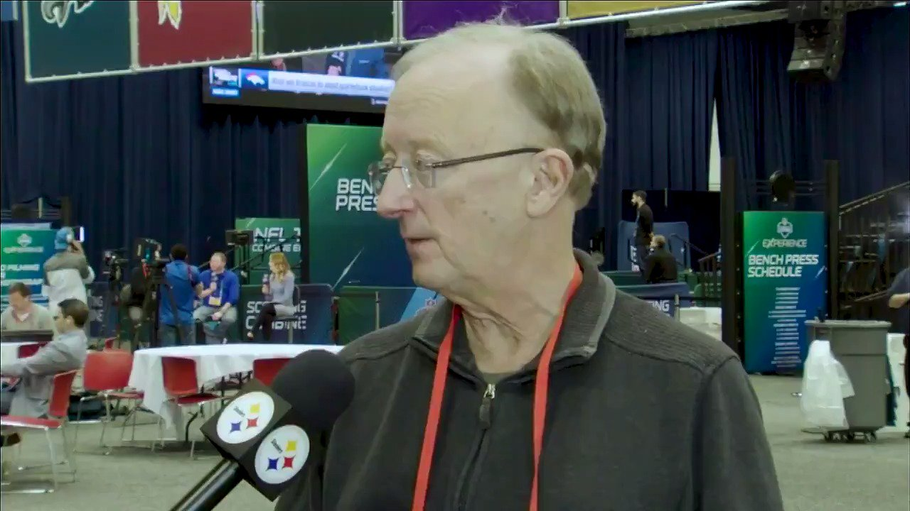NFL Analyst @ClaytonESPN talks Le'Veon Bell, the AFC North, the first overall pick and more from the #NFLCombine. https://t.co/mqRUCjBPuI