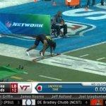 WATCH: Virginia Tech's Tremaine Edmunds delivers blazing 40-yard dash