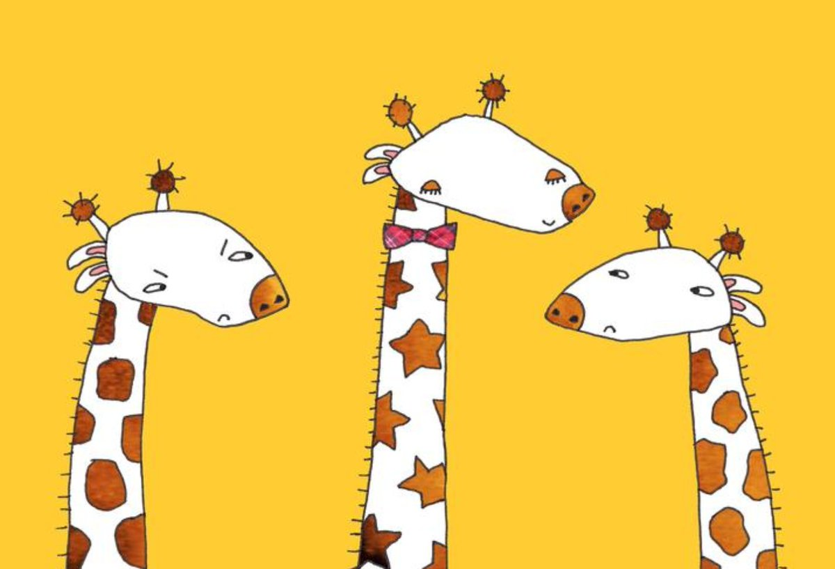Need 3 VOICE ACTORS to play these giraffes — details here: https://t.co/HFEIvlfMUr https://t.co/Sx6viNo2kQ