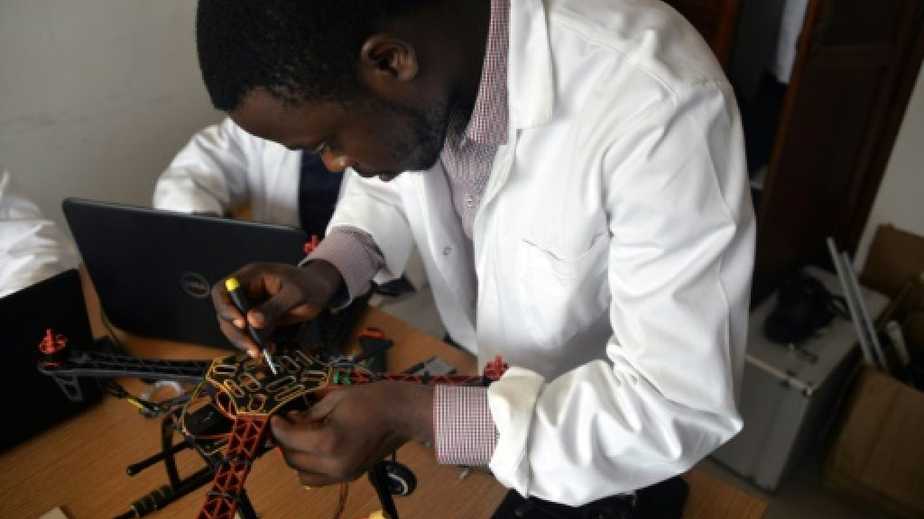 Cameroon startup launches drones for global market