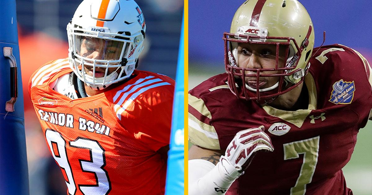 Pass-rush prospects provide NFC North intrigue.  ��: https://t.co/tl9giqDuRo   #NFLCombine https://t.co/qzAEBBAlxF